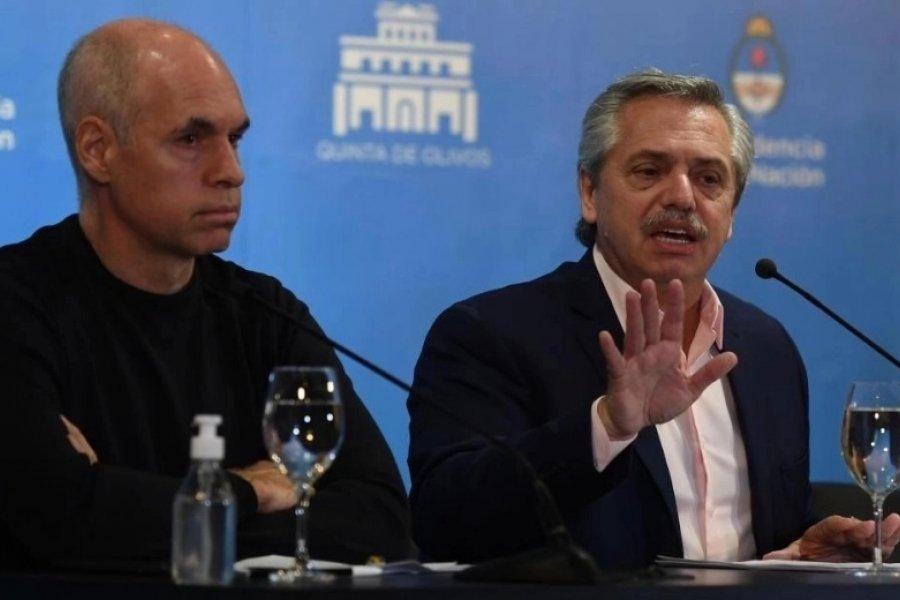 Alberto Fernández se reunirá con Larreta el viernes por la mañana
