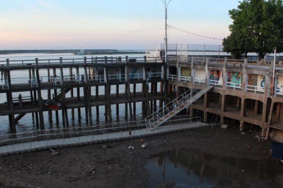 El río Paraná retomó la bajante crítica con caudal muy inferior al normal