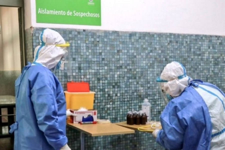 Corrientes registró 468 casos nuevos de Coronavirus: 110 en Capital y 358 en el Interior