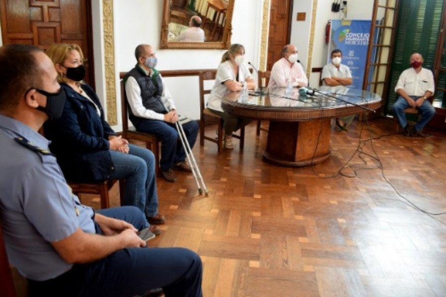 Mercedes: El Comité de Crisis ratificó medidas preventivas por el Coronavirus