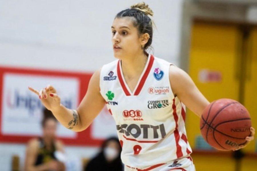 Florencia Chagas es la primera argentina elegida para jugar en la NBA