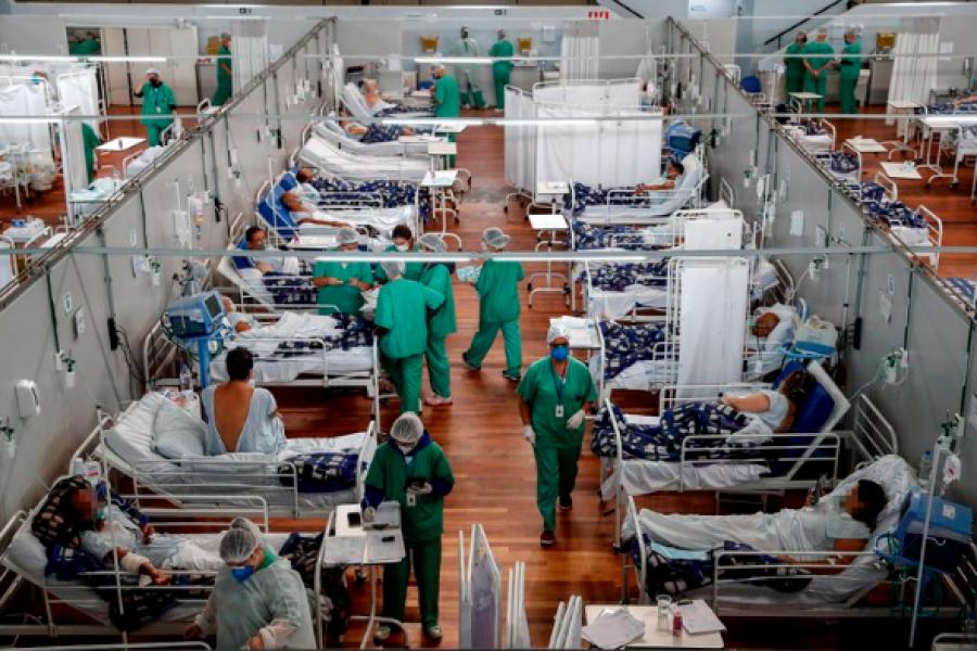 Colapso hospitalario en Brasil: Un grupo de gobernadores pidió a la ONU ayuda humanitaria