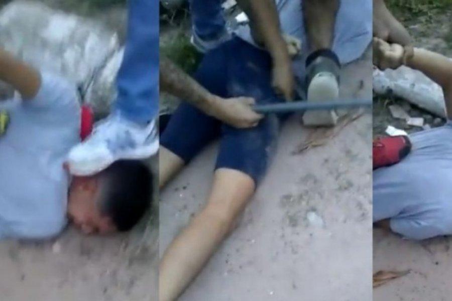 Chaco: Lincharon a un ladrón que arrastró a una mujer para sacarle la cartera