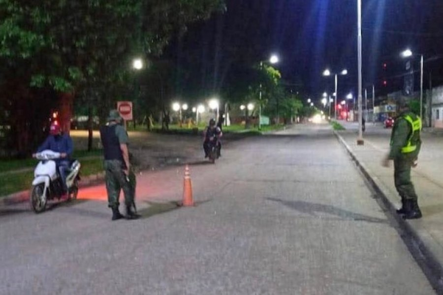Toque de queda en Goya: Las sirenas anuncian la prohibición de circular en las calles