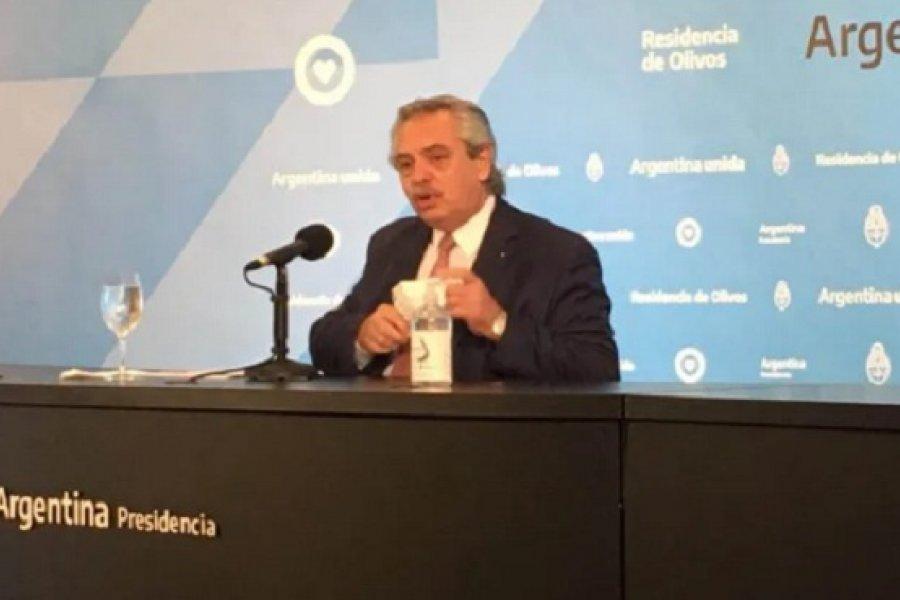 Balance de Alberto Fernández en el primer día de las nuevas restricciones: El acatamiento fue muy alto