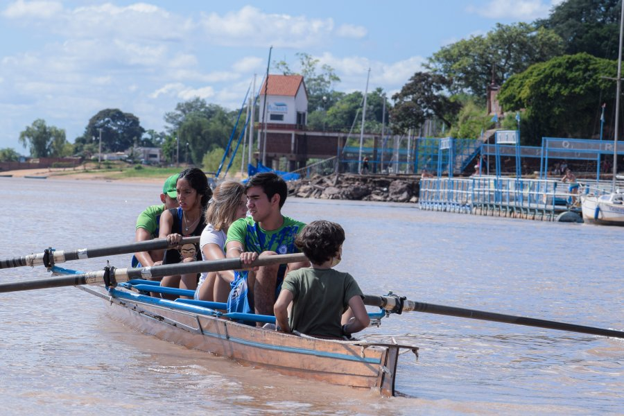 """Rotundo éxito en la regata interna """"Día del Remero"""""""