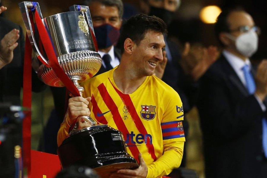 Copa del Rey: con un Messi brillante, Barcelona gritó otra vez campeón