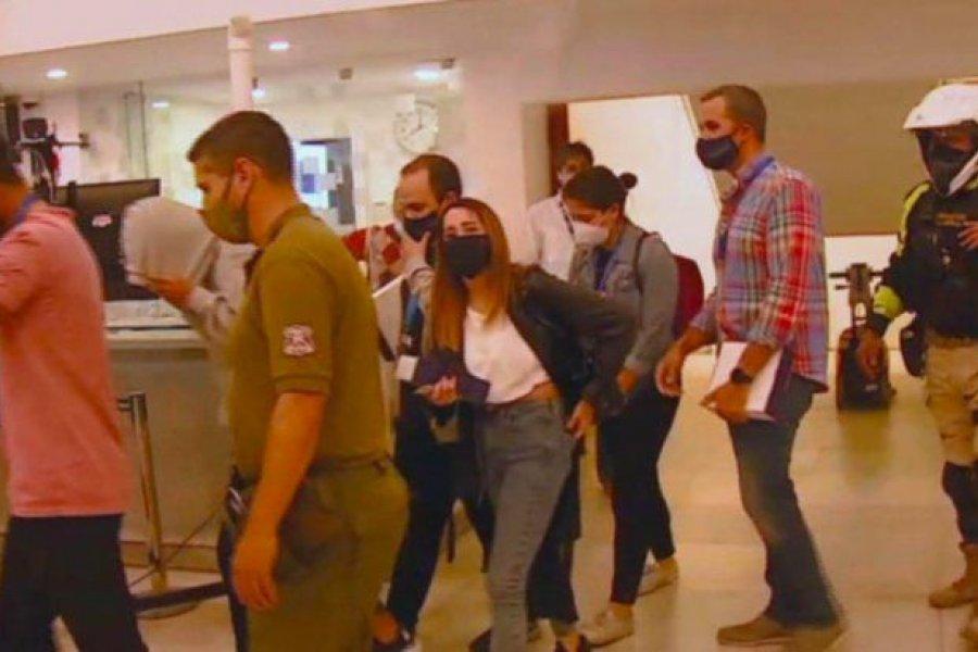 Hicieron una fiesta clandestina en un centro de testeo contra el Covid-19