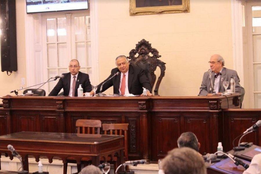 Con una charla sobre su historia se recordó los 114 años de inauguración del actual edificio legislativo
