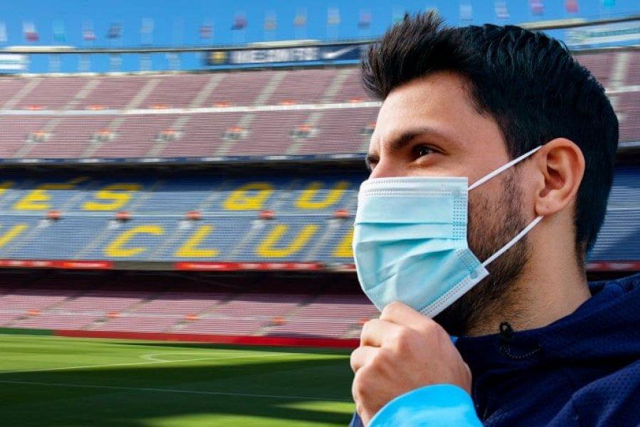 Kun Agüero, muy cerca de Barcelona: negociación fuerte y contrato en borrador
