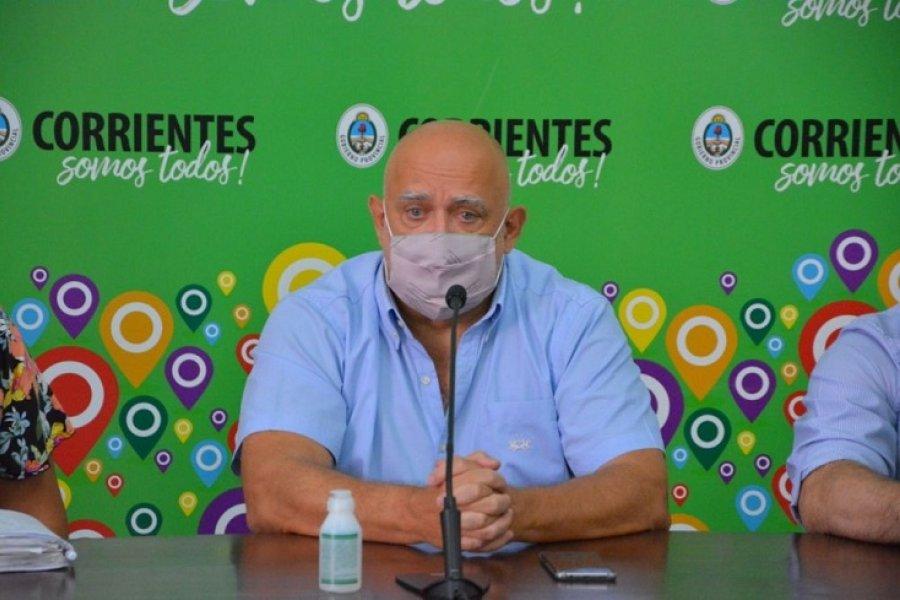 Vignolo manifestó su preocupación por la cepa de Manaos en Chaco