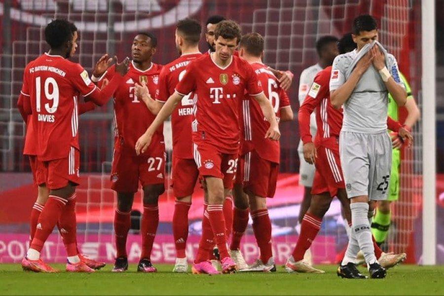 Bayern Munich ganó y el sábado puede volver a gritar campeón