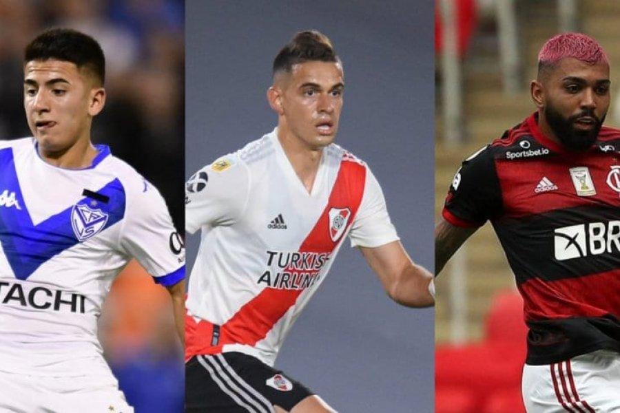Los jugadores más caros de la Copa Libertadores 2021