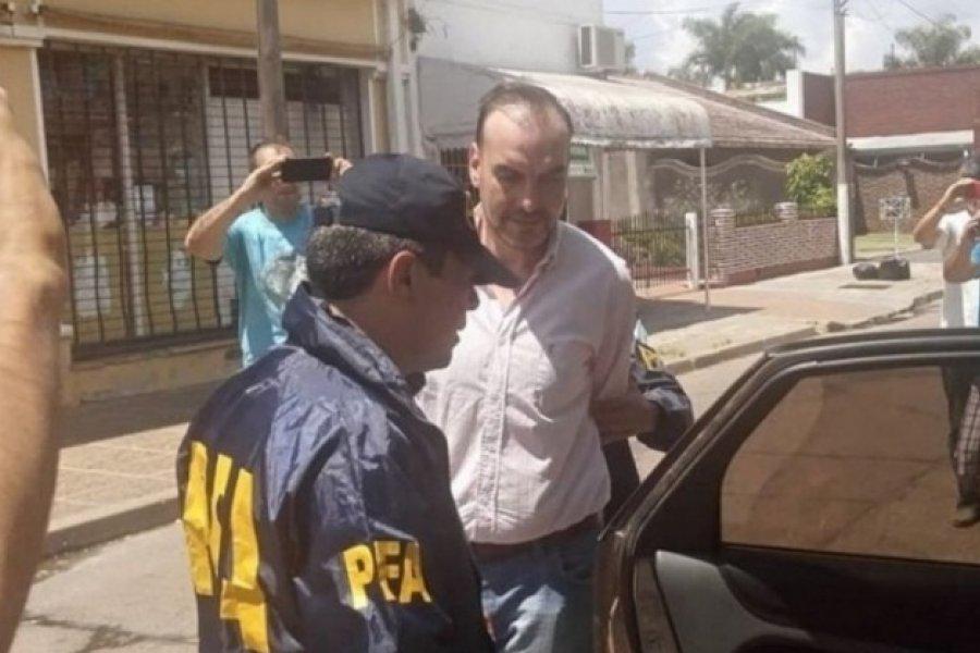 Concedieron la prisión domiciliaria al ex intendente de Perugorria