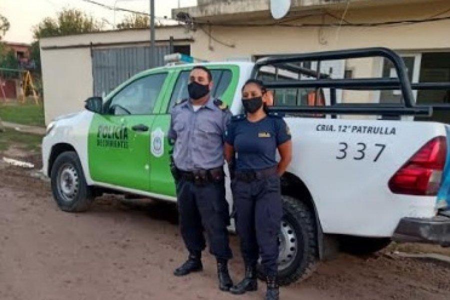Una mujer dio a luz en un patrullero en Corrientes