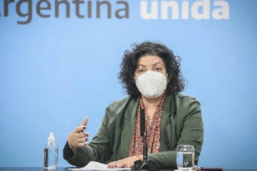 Carla Vizzotti: Este es el momento de más riesgo desde el comienzo de la pandemia