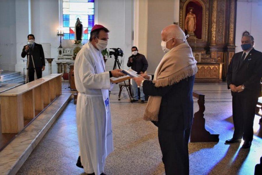 Cercanía, oración, aliento y esperanza de Monseñor Adolfo Canecin a las autoridades