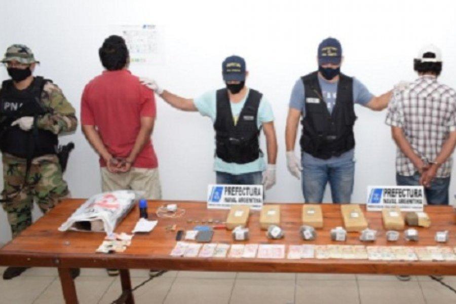 Prefectura secuestró marihuana en Corrientes