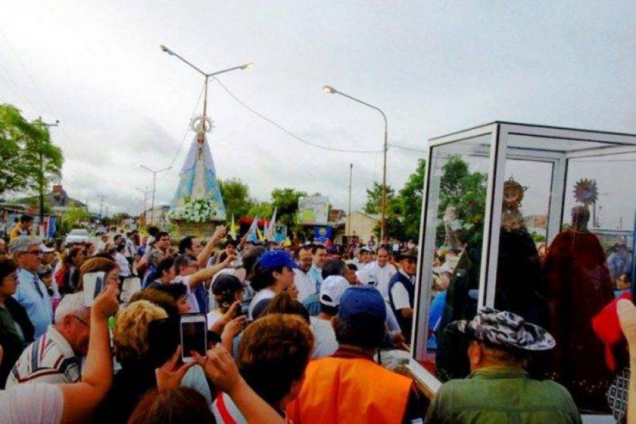 La imagen de la Virgen de Itatí visitará a los pueblos peregrinos
