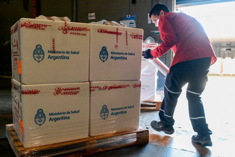 Corrientes recibirá más de 16.000 vacunas Sputnik V este jueves