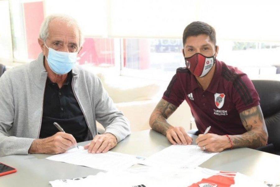 Enzo Pérez renovó con River hasta fines de 2023