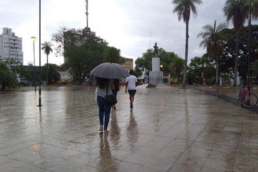 Probabilidad de lluvias en Corrientes