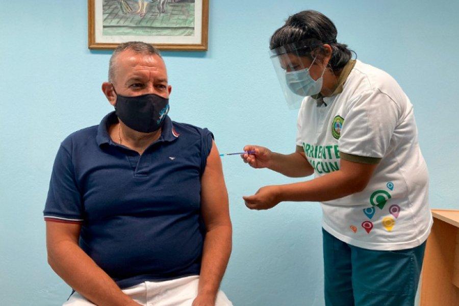 Rolando Fernández, el primer excombatiente de Malvinas en recibir la vacuna contra el Covid