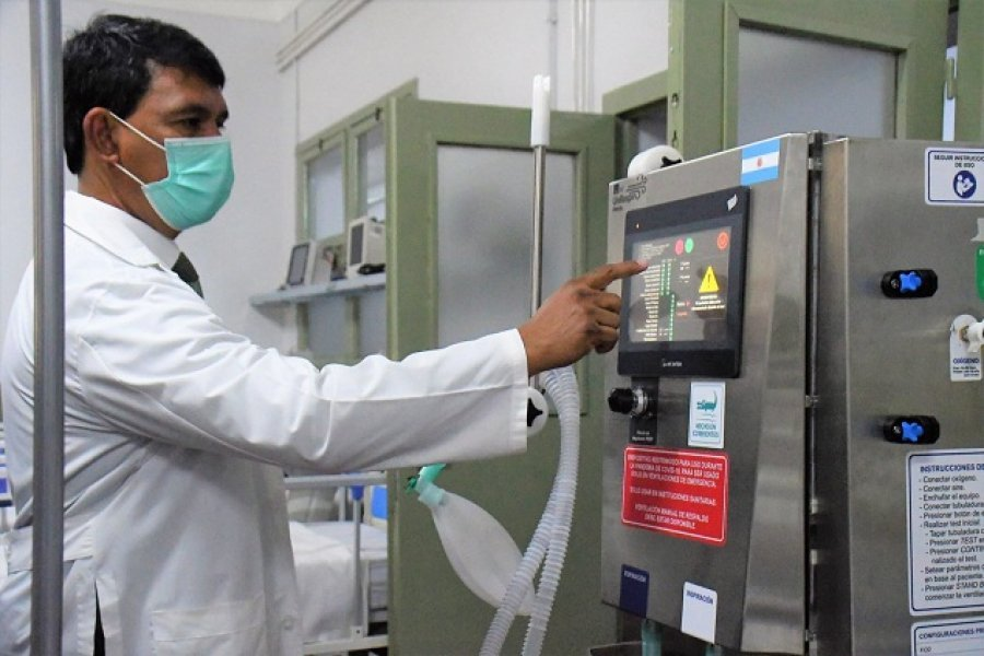 Covid: Fallecieron 3 pacientes más en el Hospital de Campaña