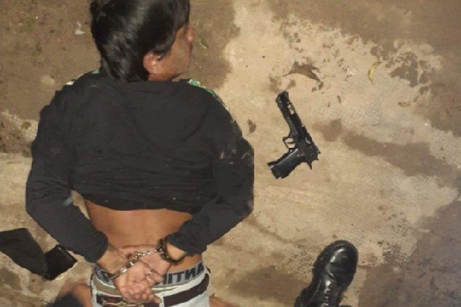 Policías demoraron a un hombre con una réplica de un arma de fuego