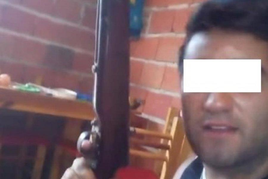 Corrientes: Se grabó amenazando a la policía y luego pidió disculpas