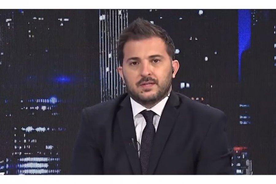 Diego Brancatelli tiene coronavirus y permanece aislado