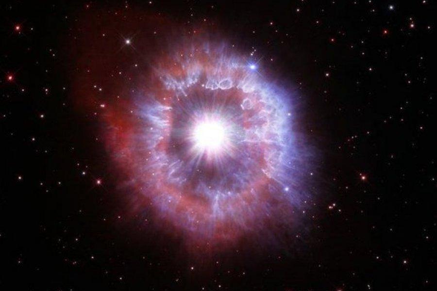 Captan una estrella gigante al borde de la destrucción