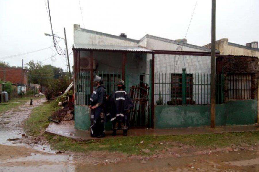 Detuvieron a escurridizo delincuente tras un allanamiento en el barrio Cichero