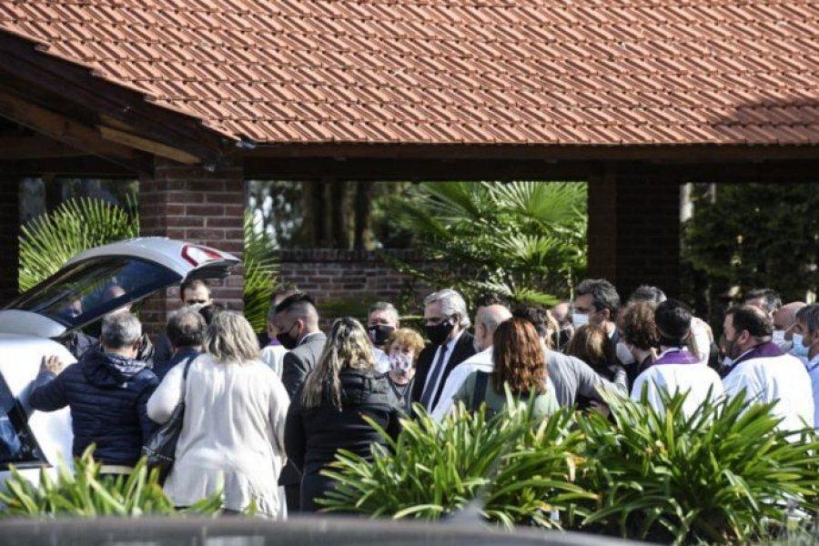 Último adiós a Mario Meoni: Alberto Fernández participó de la despedida íntima