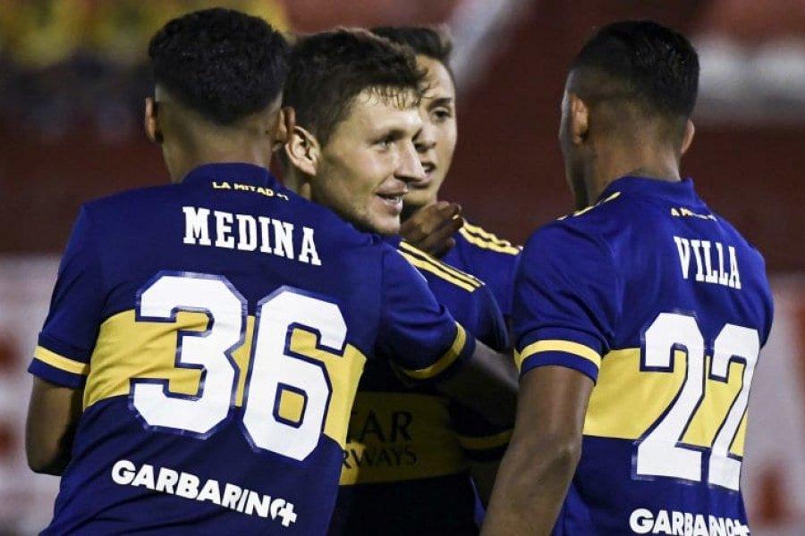 Boca derrotó a Huracán en el Ducó y se afianza en el Grupo B