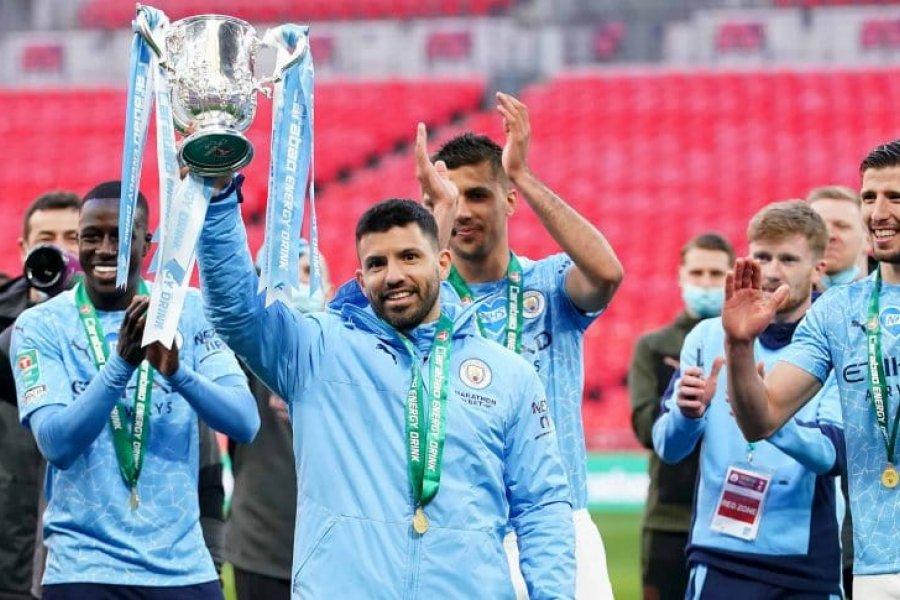 Manchester City le ganó a Tottenham y es tetracampeón