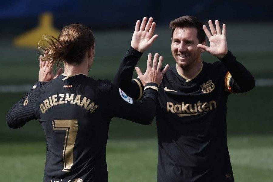 Barcelona venció a Villarreal y depende de sí mismo