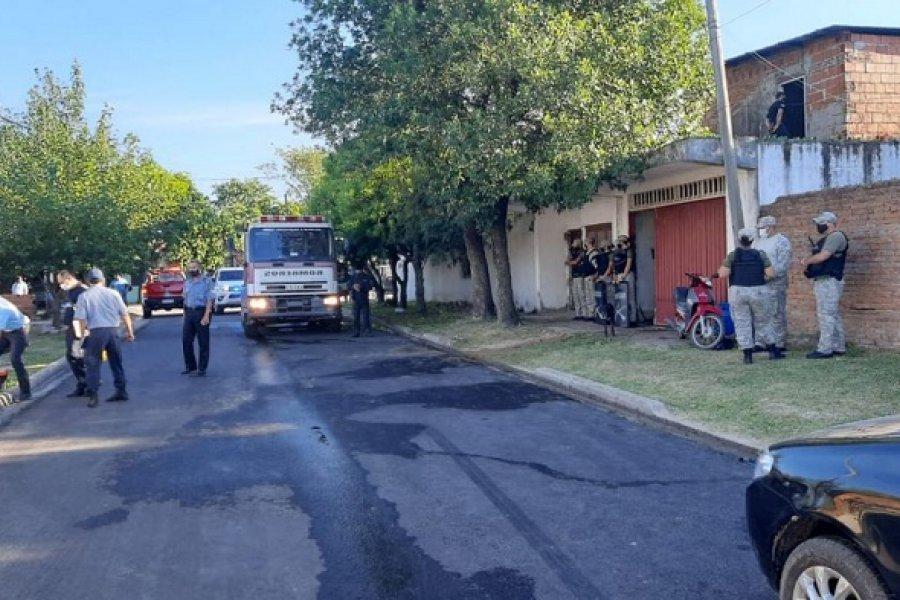 Liberaron al hombre sospechado de incendiar su casa donde murieron su mujer y dos hijos