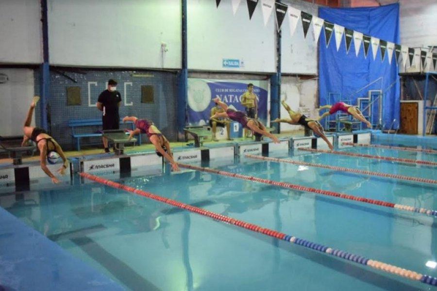 Se realizó un evaluativo interno de natación