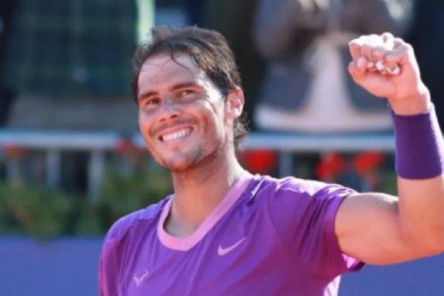 Rafael Nadal amplió su dominio en Conde de Godó, en Barcelona