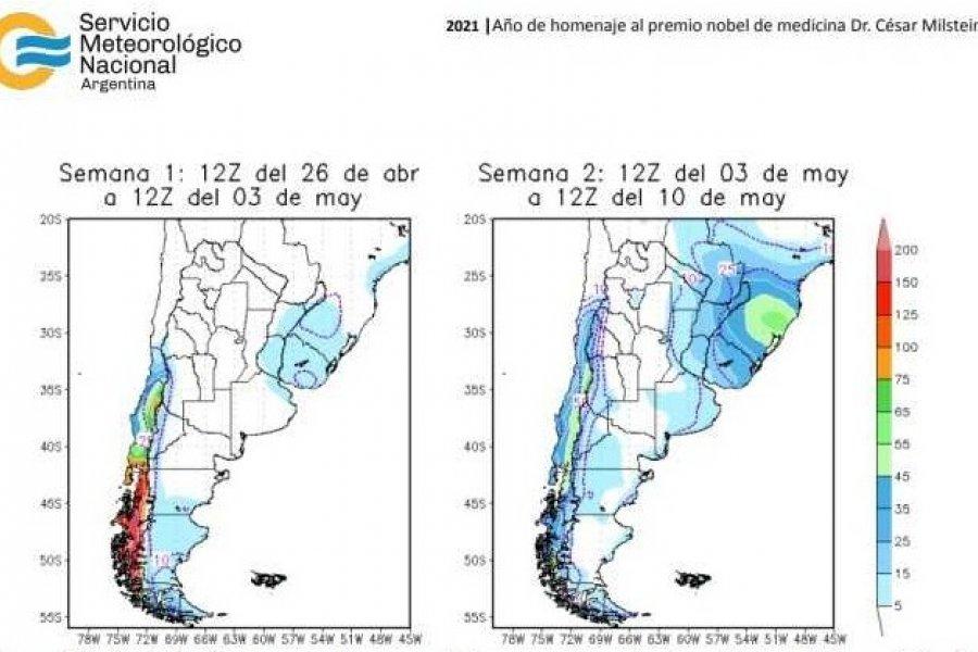 Informe especial del Servicio Meteorológico Nacional