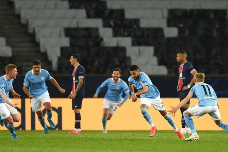 Manchester City se lo dio vuelta al PSG y se quedó con la primera semifinal