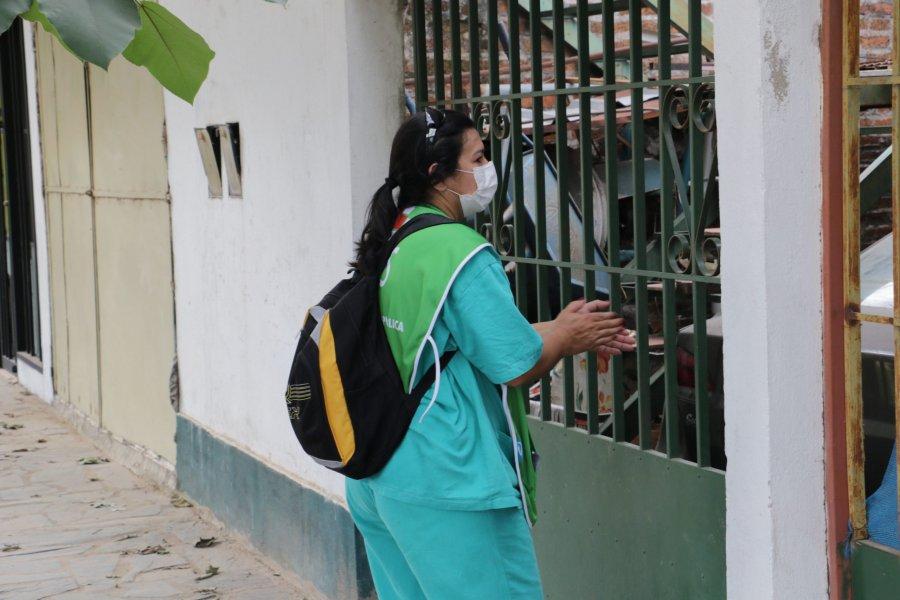 La vacunación casa por casa continuará en los barrios Patono y Pompeya