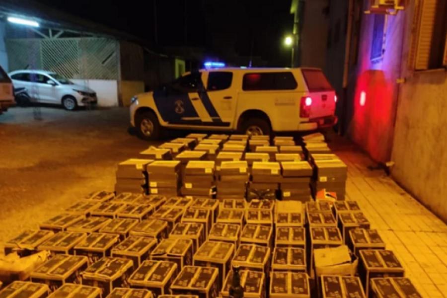 Decomisaron cajas de vino y whisky de contrabando valuadas en $2 millones