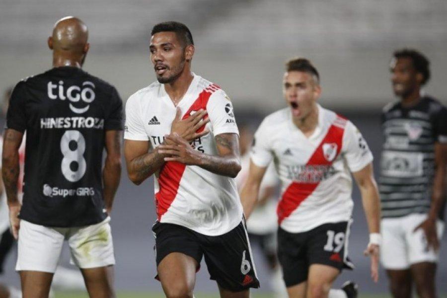 River logró su primer triunfo en la Copa: superó a 2-1 a Junior