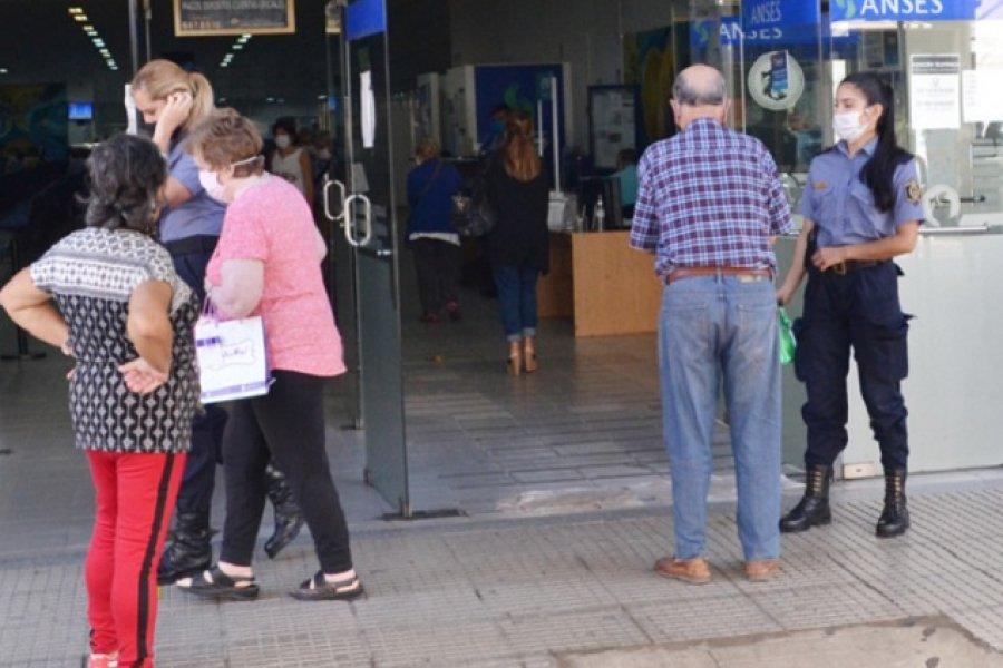 El Banco de Corrientes garantizó la atención a jubilados por ventanilla