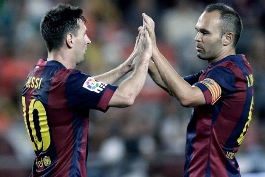 Andrés Iniesta: El Barcelona sin Messi es menos Barcelona