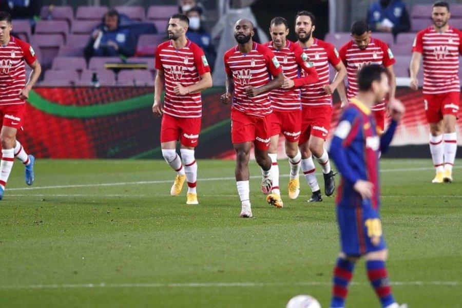¡Bombazo en el Camp Nou! Granada lo dio vuelta y frustró a Barcelona