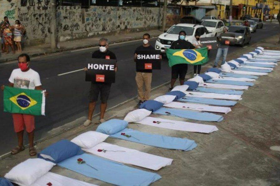 Brasil superó los 400 mil muertos por COVID-19