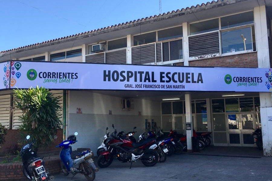 Se realizó una nueva ablación multiorgánica en el Hospital Escuela